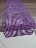 Třpytivě fialový běhoun/pás/stuha ,