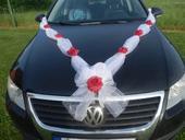 dekorace na auto pro nevěstu,