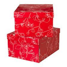 červené krabice, moc pěkné
