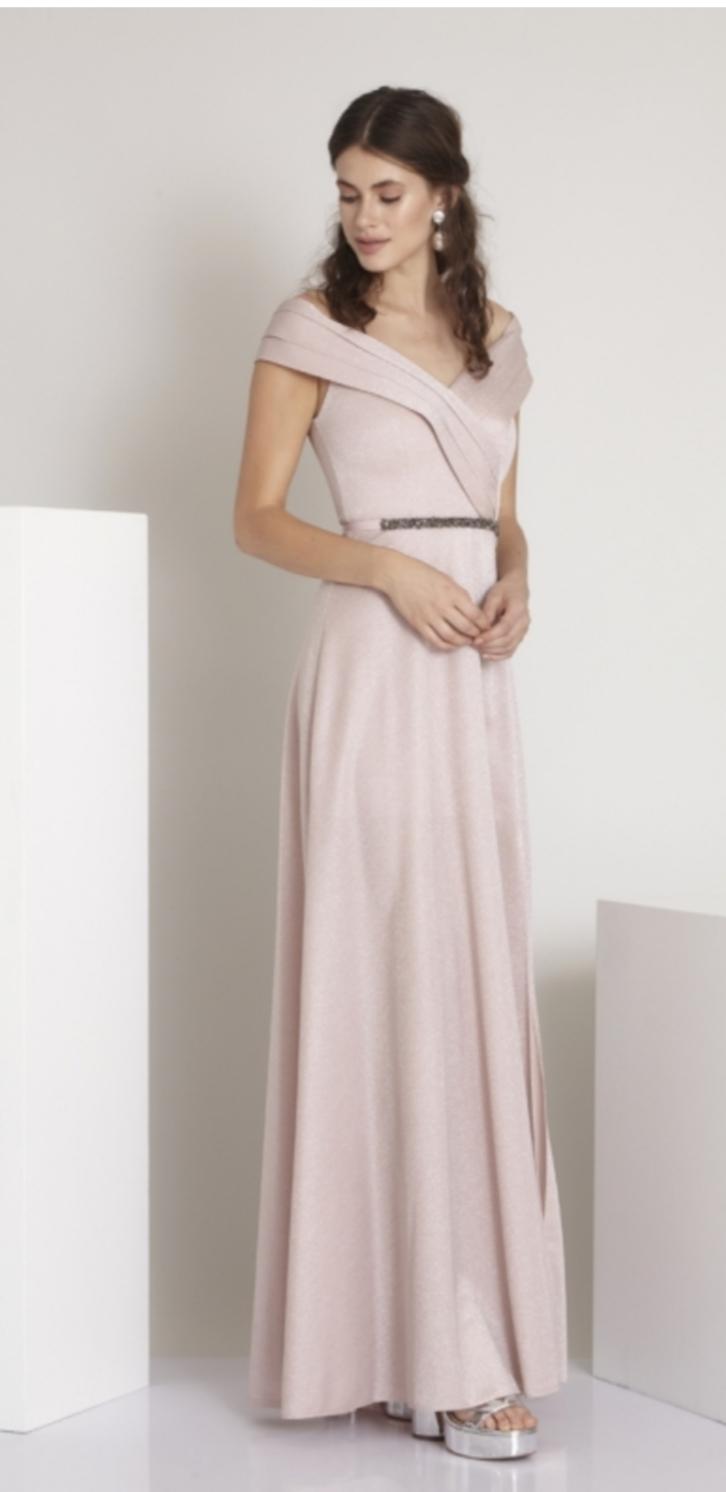 Spoločenské šaty vhodné aj ako popolnočné - Obrázok č. 2
