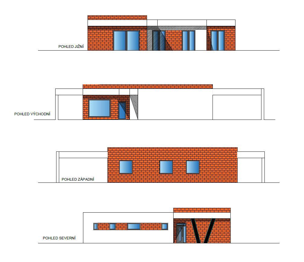 Bungalov s plochou střechou - Obrázek č. 5