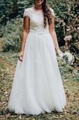 Svatební šaty Ivory, vel.38, 38