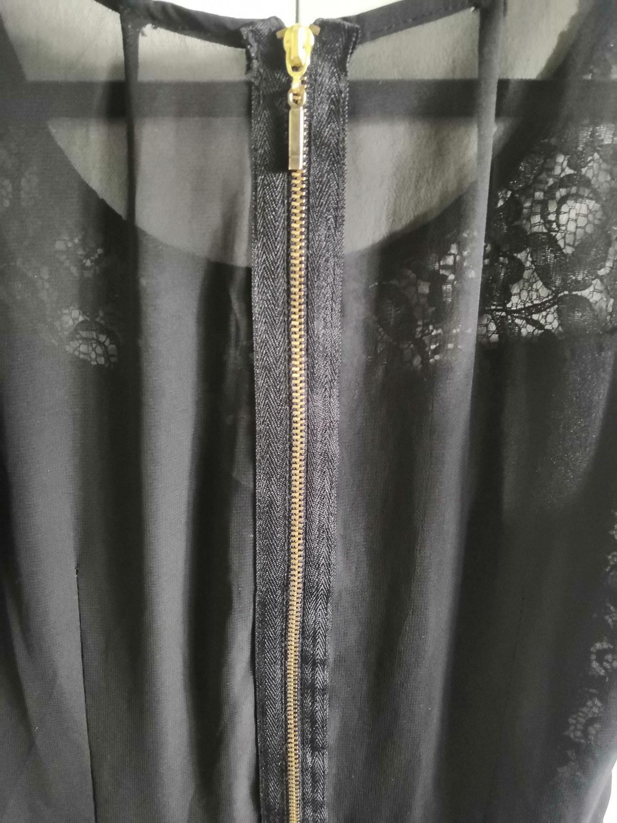 Čierne šaty s čipkou - Obrázok č. 3