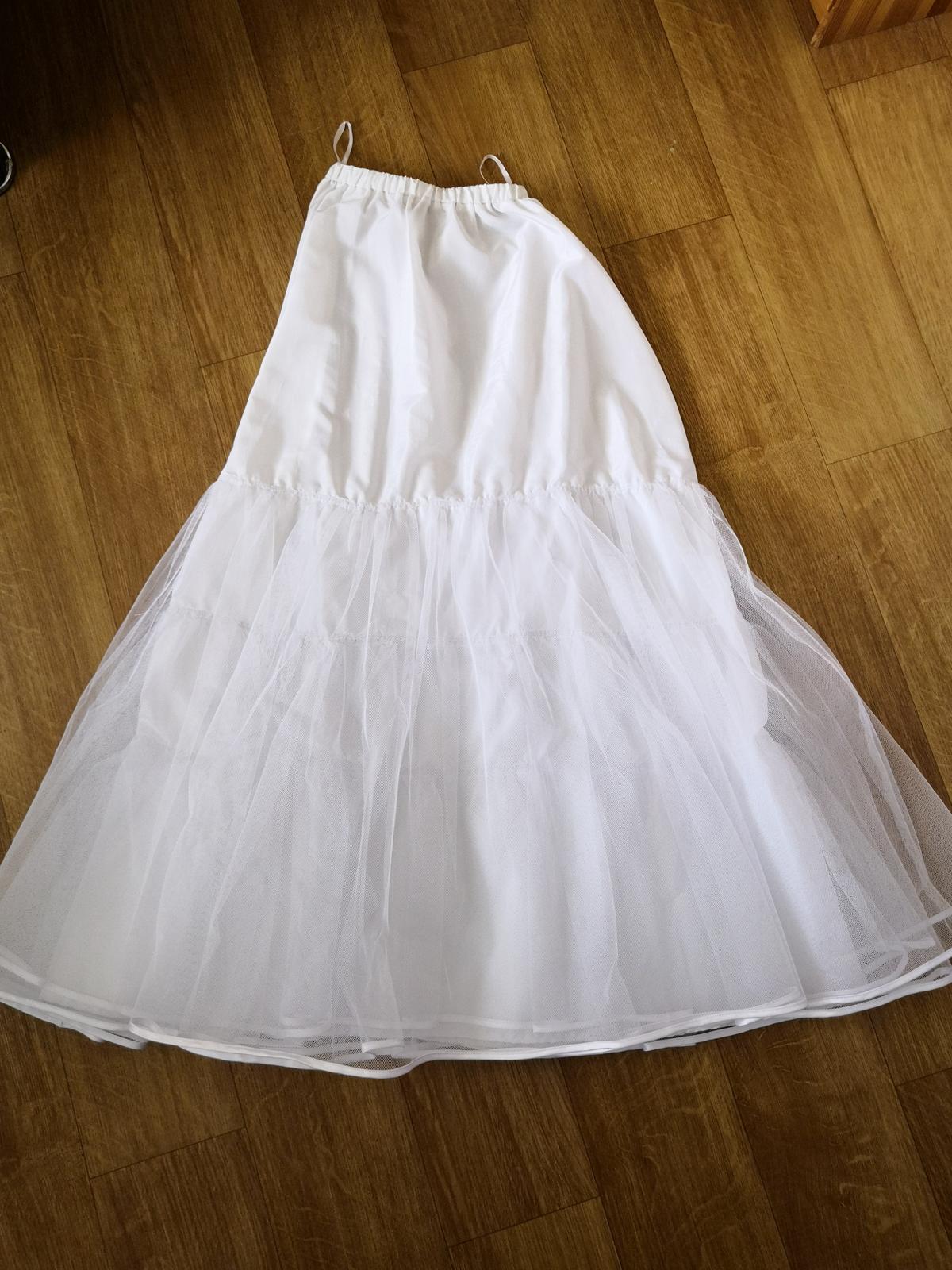 REZERVACE Svatební šaty - krajka, perličkY - Obrázek č. 2
