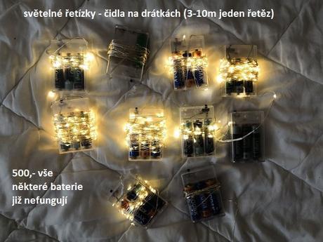 Světelné řetězy na drátcích - Obrázek č. 1