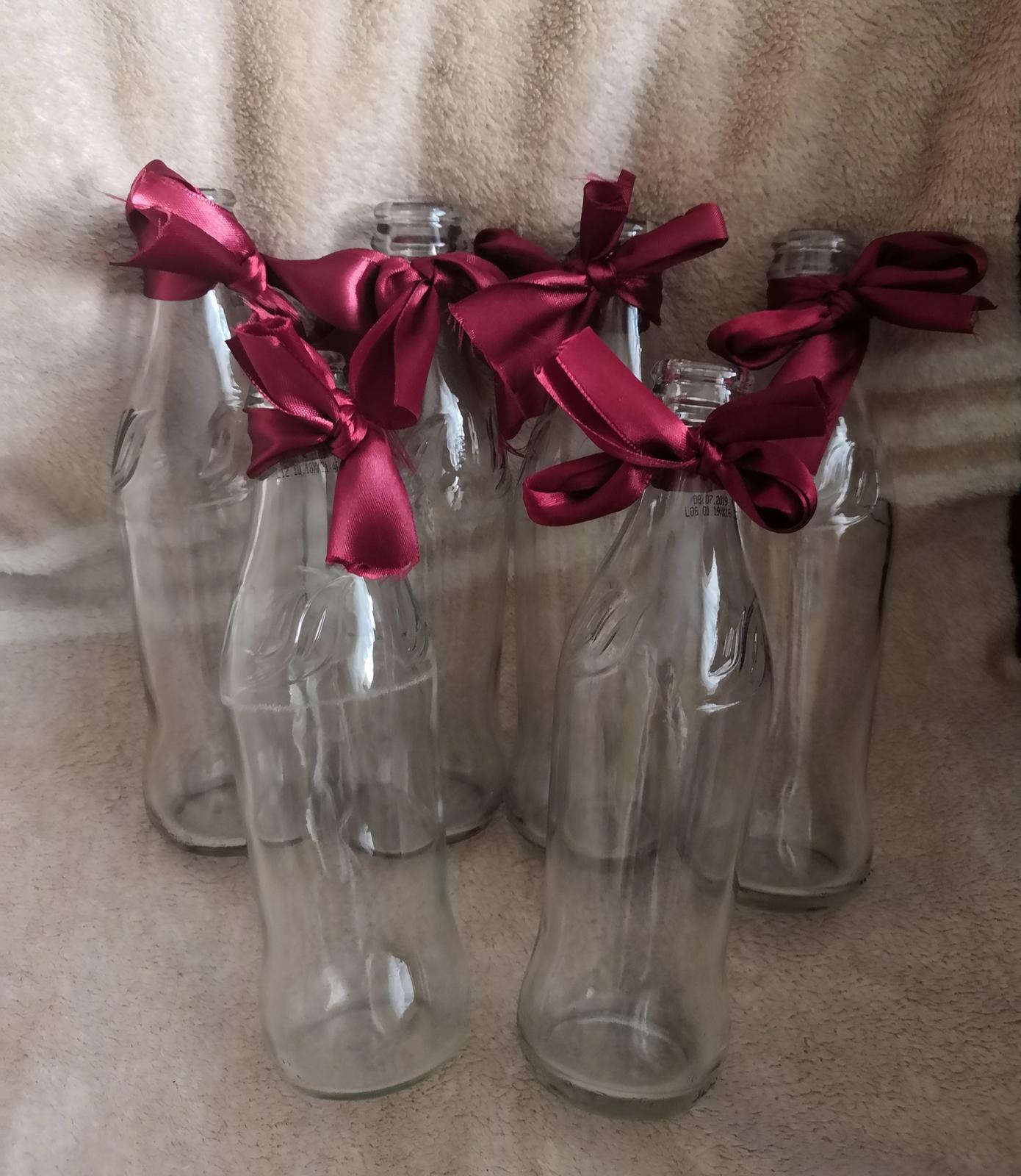 Skleněné vázičky na květiny - Obrázek č. 1