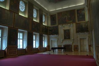 místo obřadu Valdštejný sál zámku