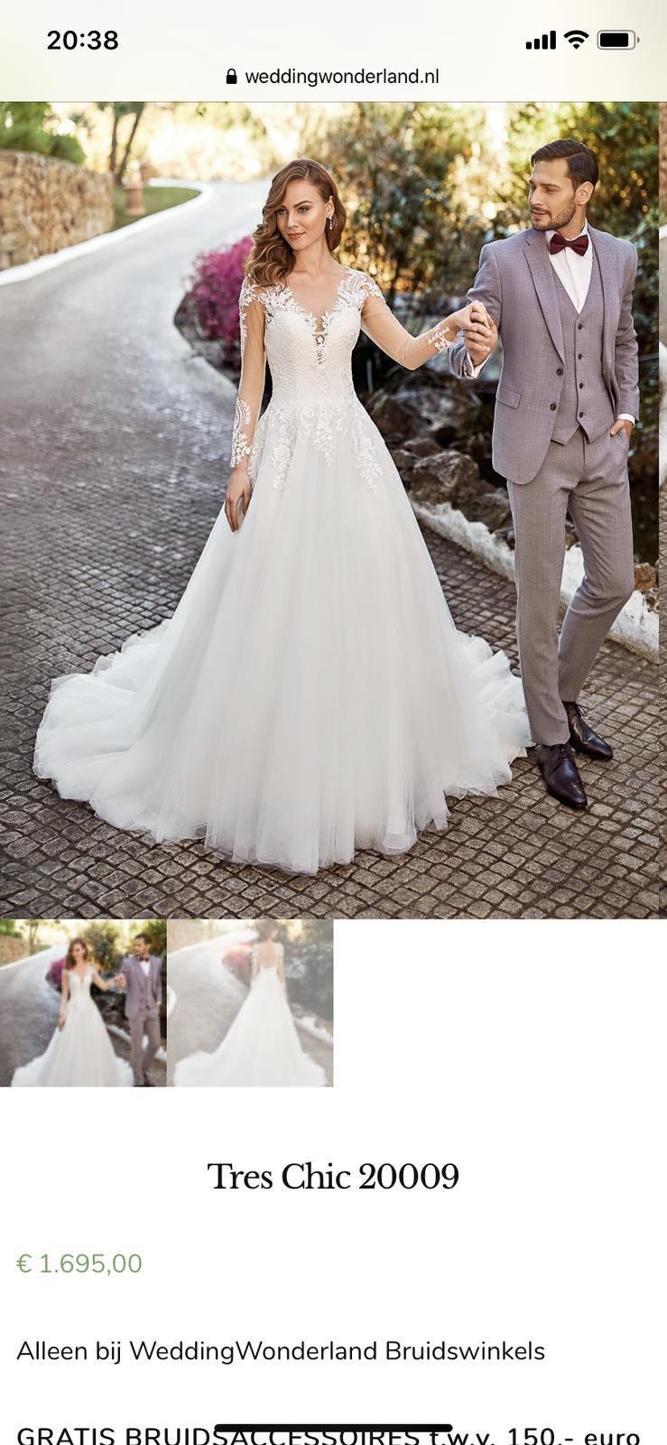 Prodej luxusních  svatebních šatů - Obrázek č. 1