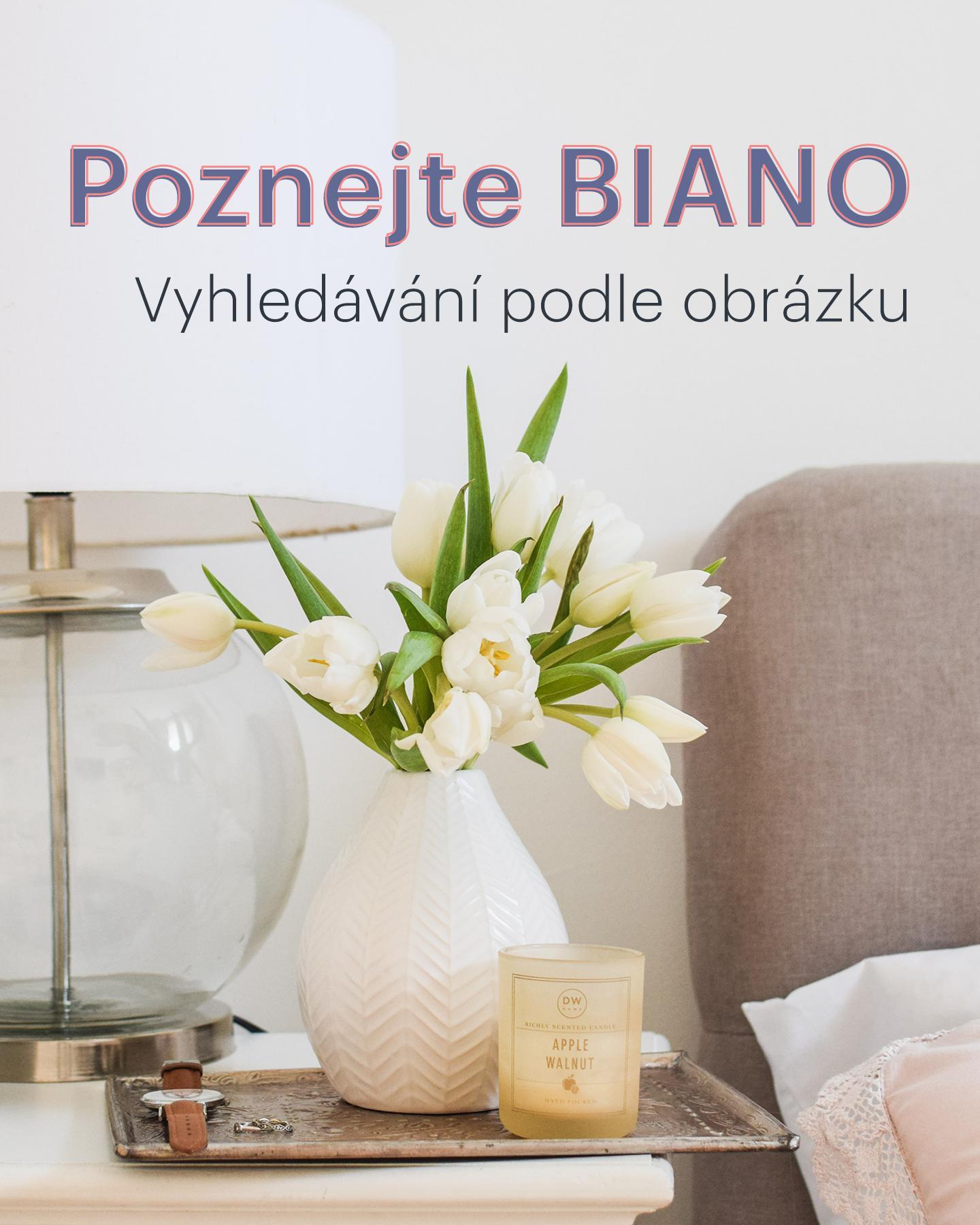 Už jste zkoušeli hledat nábytek a dekorace podle obrázky?❤️ Ušetří vám čas i peníze!📷 Jděte na www.biano.cz a vyzkoušejte to.⭐ - Obrázek č. 1