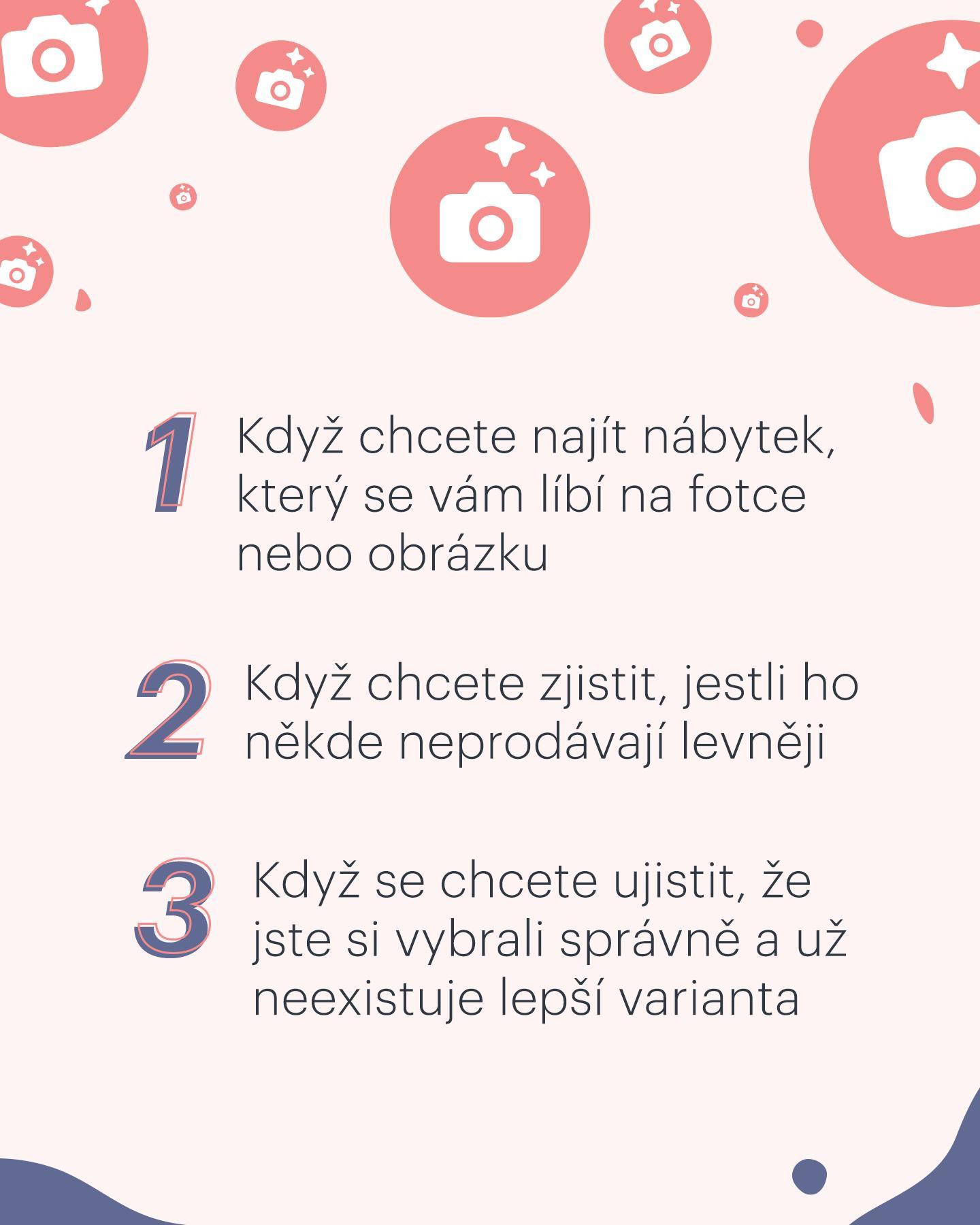 Už jste zkoušeli hledat nábytek a dekorace podle obrázky?❤️ Ušetří vám čas i peníze!📷 Jděte na www.biano.cz a vyzkoušejte to.⭐ - Obrázek č. 2