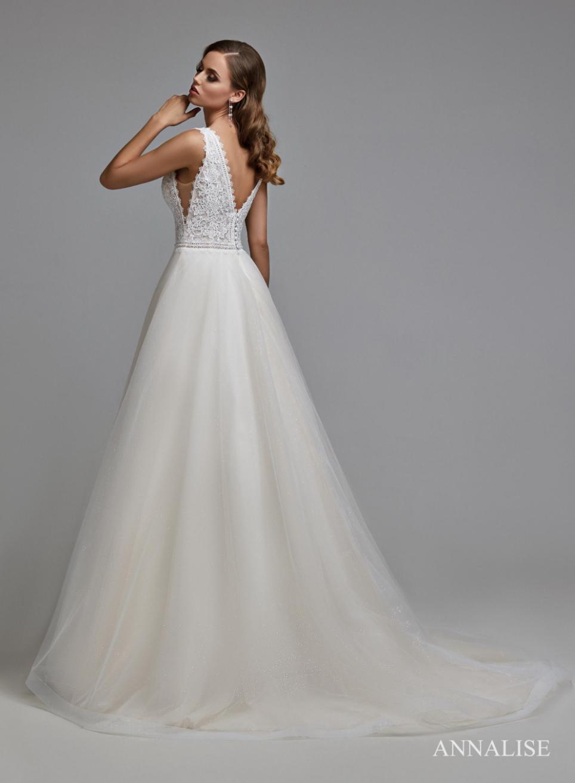 Svadobné šaty, veľ. 44. Ivory - Obrázok č. 1