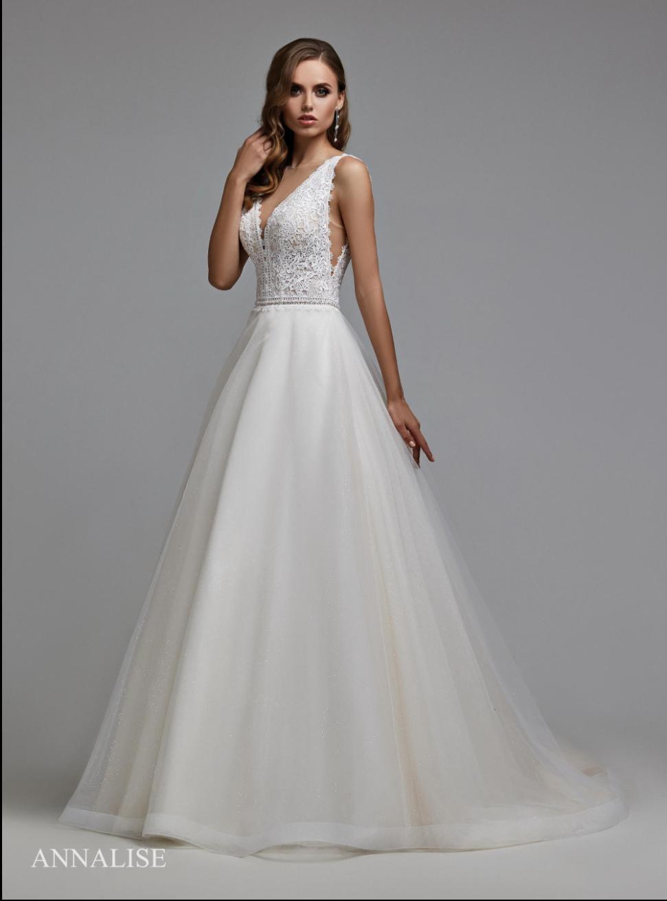Svadobné šaty, veľ. 44. Ivory - Obrázok č. 2