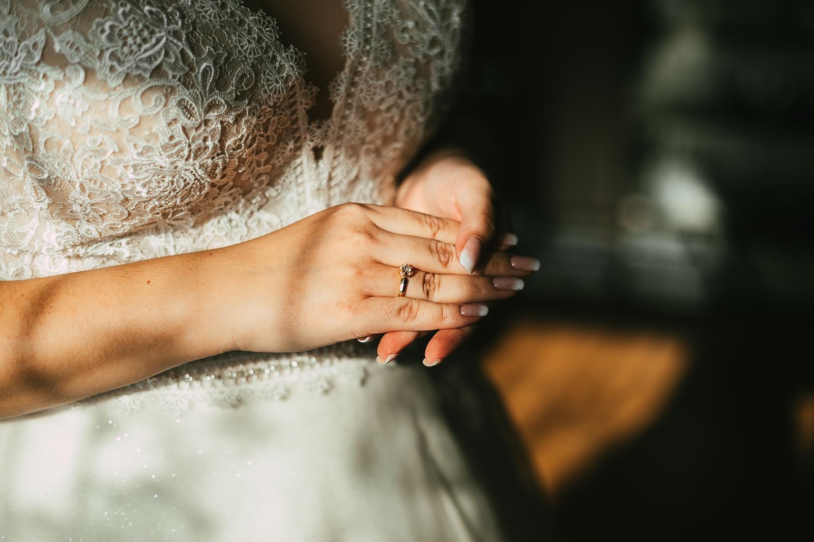 Svadobné šaty, veľ. 44. Ivory - Obrázok č. 3
