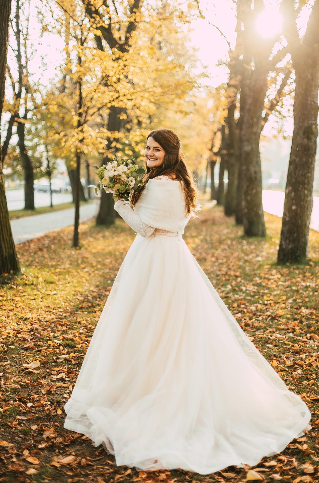 Svadobné šaty, veľ. 44. Ivory - Obrázok č. 4
