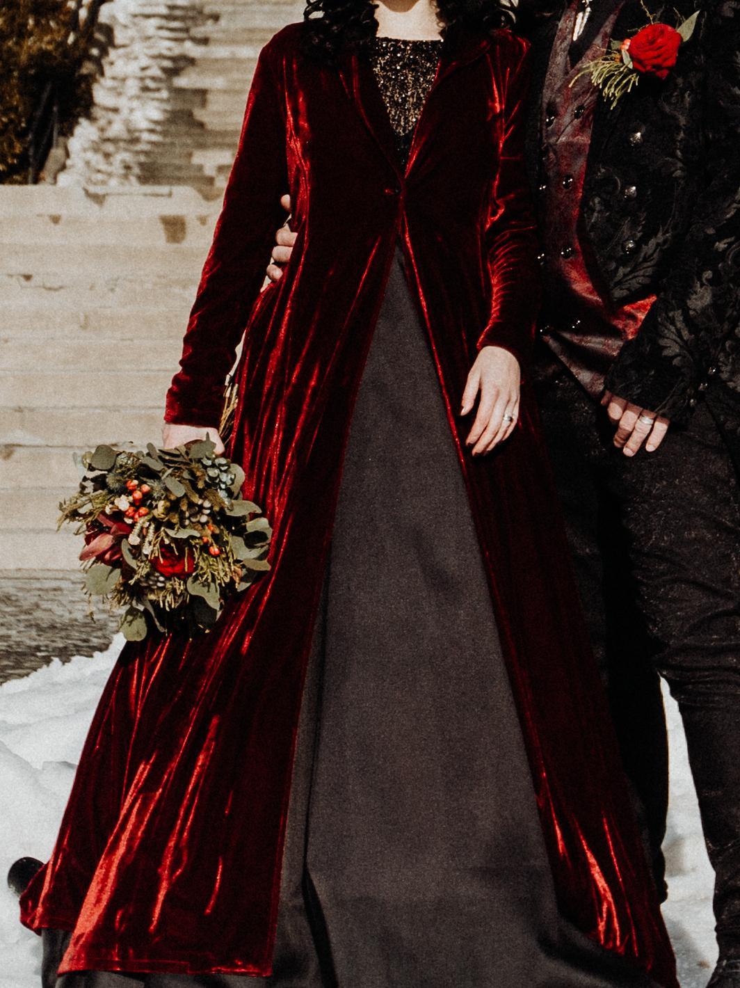 Kabát červený - Obrázek č. 1