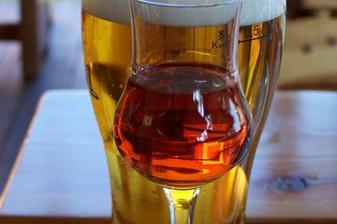 Tatranský čaj, pivo
