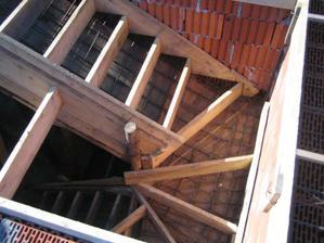 Buduce schody do podkrovia