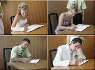 podpis a naši svědci