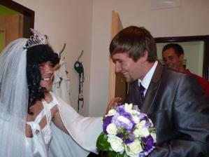 čekala na něj falešná nevěsta:-)
