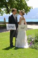 podakovanie hostom po svadbe