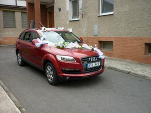 autíčko nevěsty