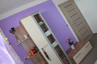 I takto se dá prozatimně zařídit ložnice:)