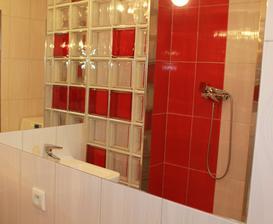 Sprchový kout z luxfer
