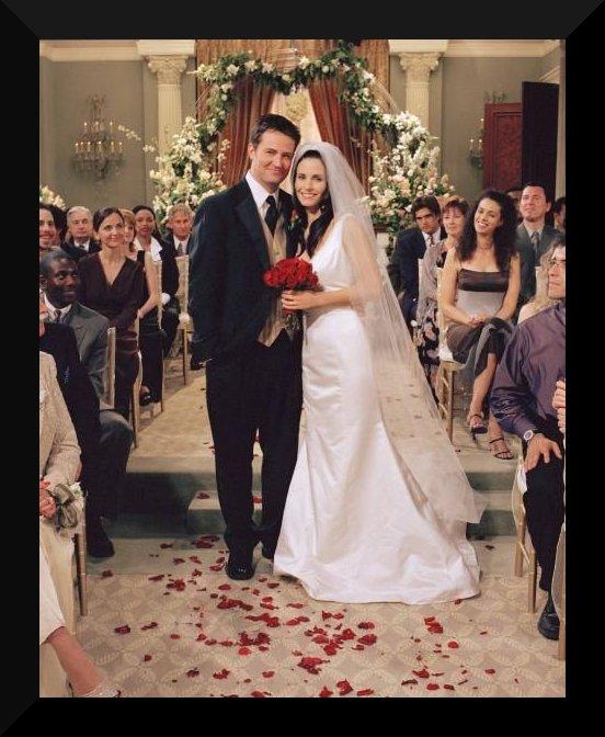 Svatby z filmů :) - Přátelé - Monica