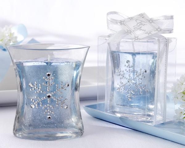 Winter Wedding ideas - Winter wedding candle decoration