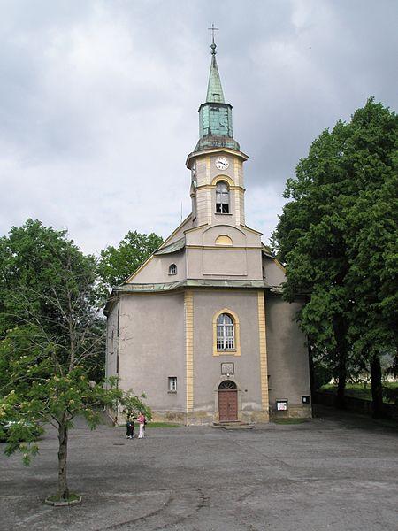 Co už je nebo pravděpodobně bude=) - evangelický kostel návsí