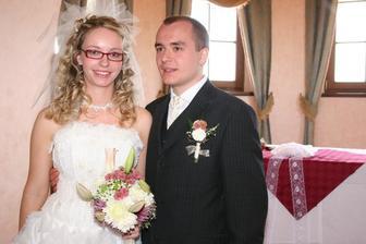 novomanželé Suchopárovi
