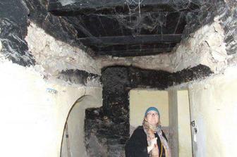 koupelna odhalená - černá kuchně
