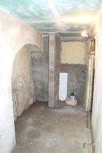 koupelna částečně hotavá