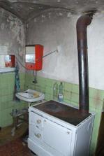 kamna v kuchyni