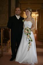 Novomanželé Zlatka a Patrik Markovi. :)