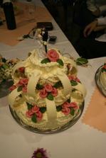 Náš krásný dortík - mňam. :)