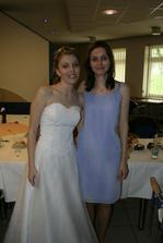 S úžasnou dlouholetou kamarádkou Verčou. :)