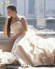 A takové budu mít svatební šaty...