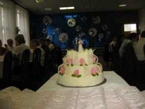 náš výborný svatební dort