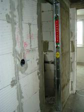 stavebne puzdro pre posuvne dvere - kupelna