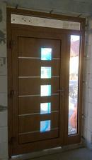 Nase nove dvere...konecne, velmi sa z nich tesime! Pohlad zvnutra.