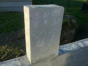 Ako zvycajne, pribudli aj umelecke diela, tentokrat na plote :)