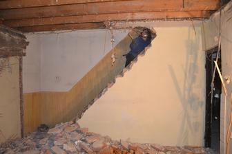 Otváranie schodištia