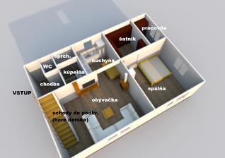 Manželov projekt spodného poschodia