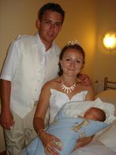 Náš najmenší synovec Martinko mal 9 dní