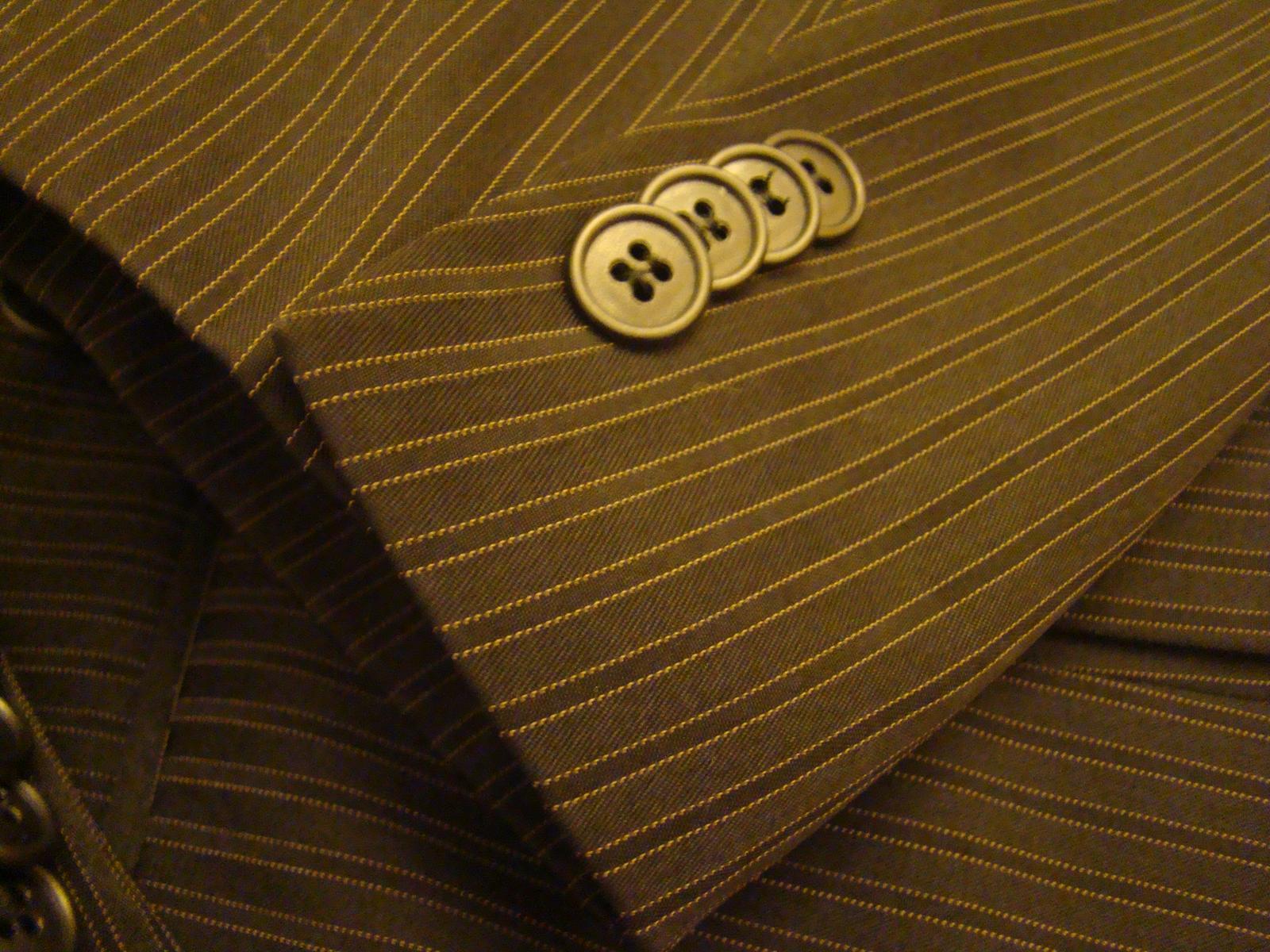 Raz použity kvalitny pánsky oblek - Obrázok č. 3