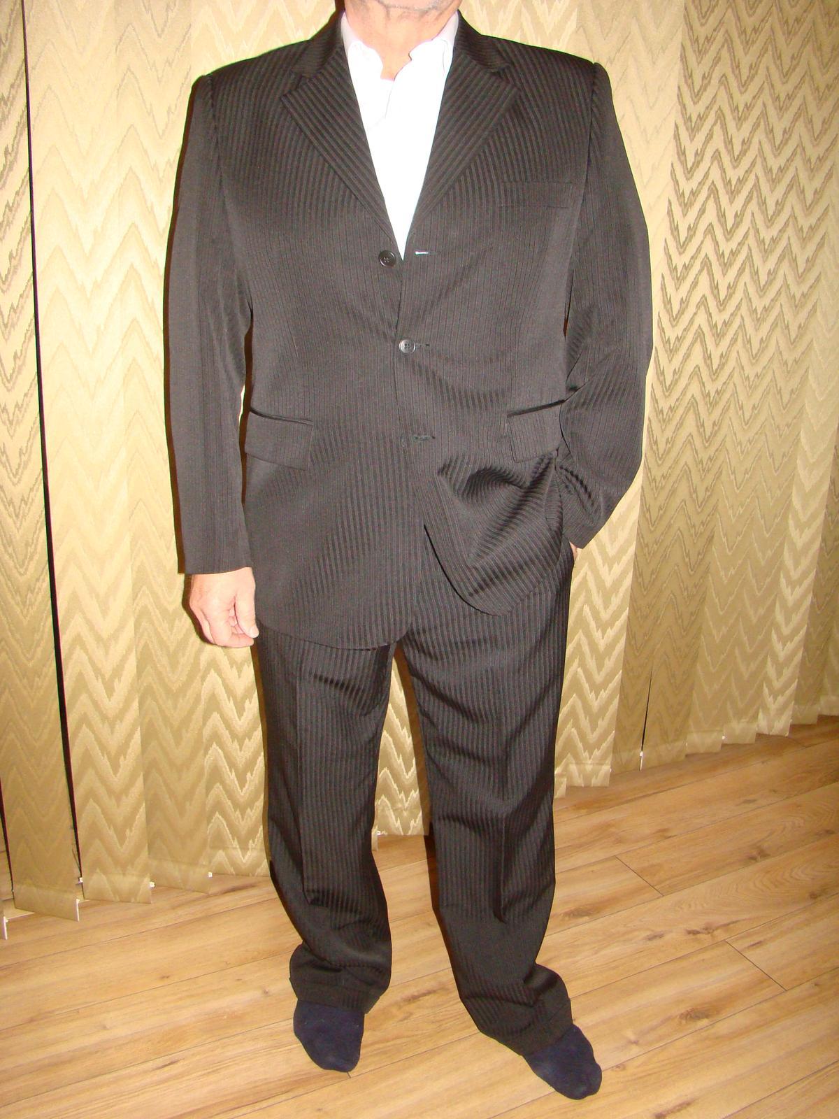 Raz použity kvalitny pánsky oblek - Obrázok č. 2