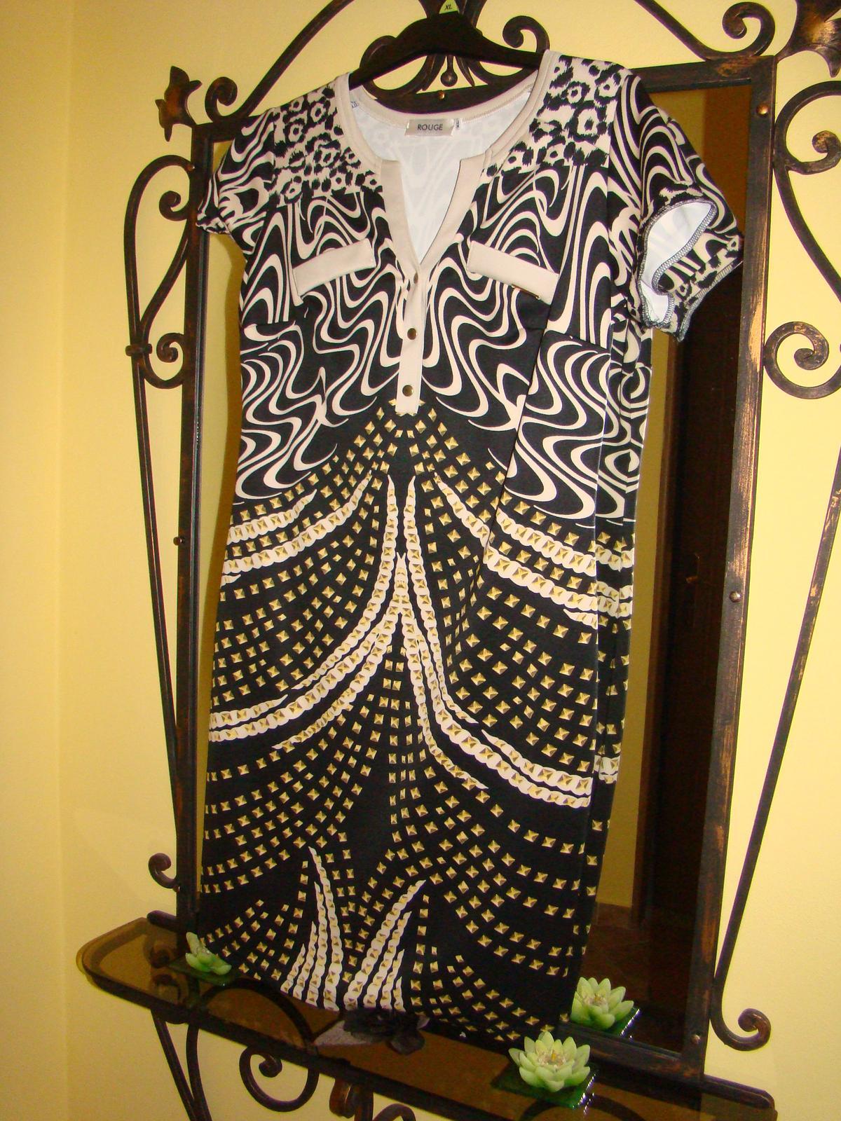Nenosene Rouge šaty do spoločnosti - Obrázok č. 1