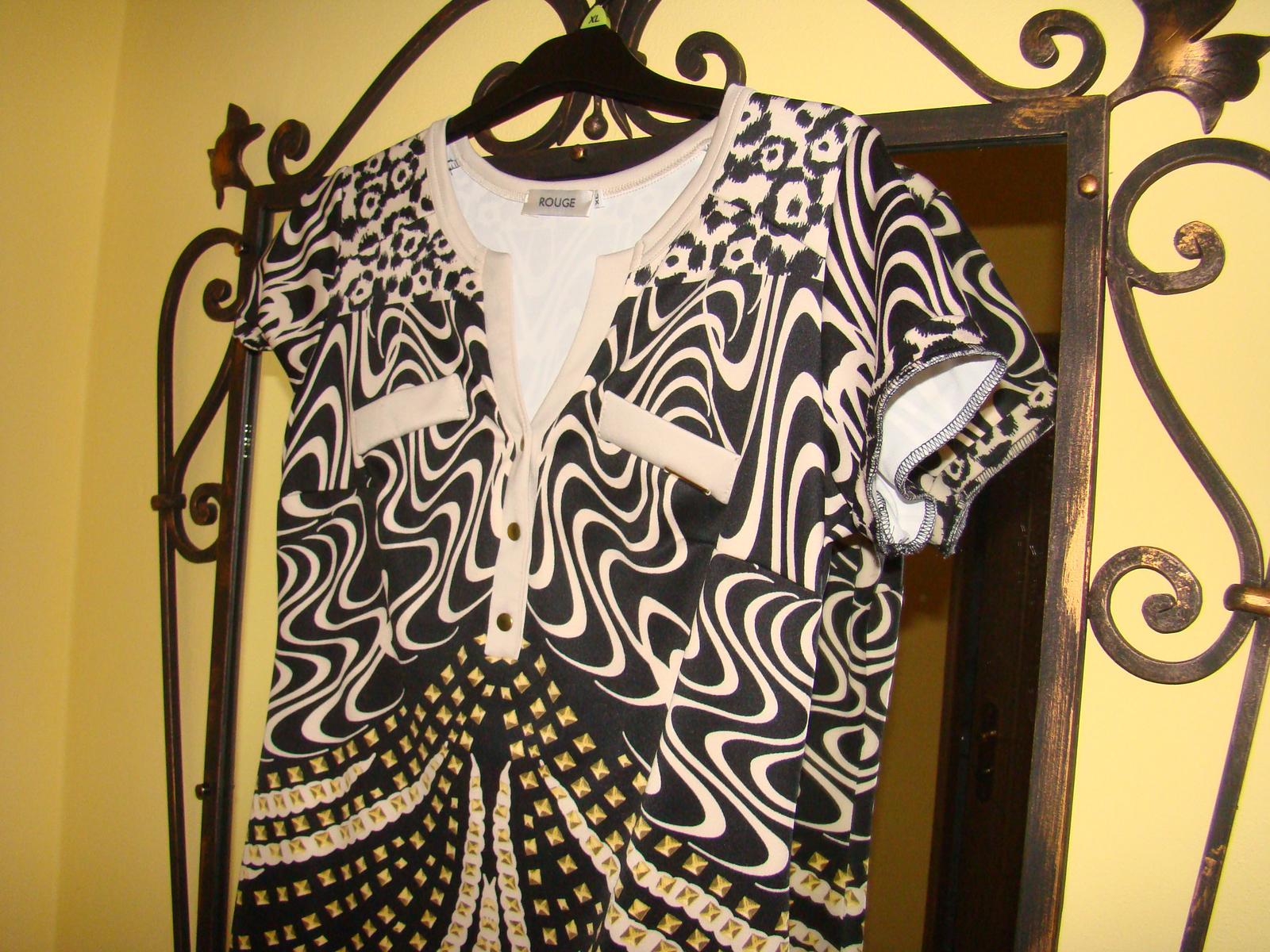 Nenosene Rouge šaty do spoločnosti - Obrázok č. 2