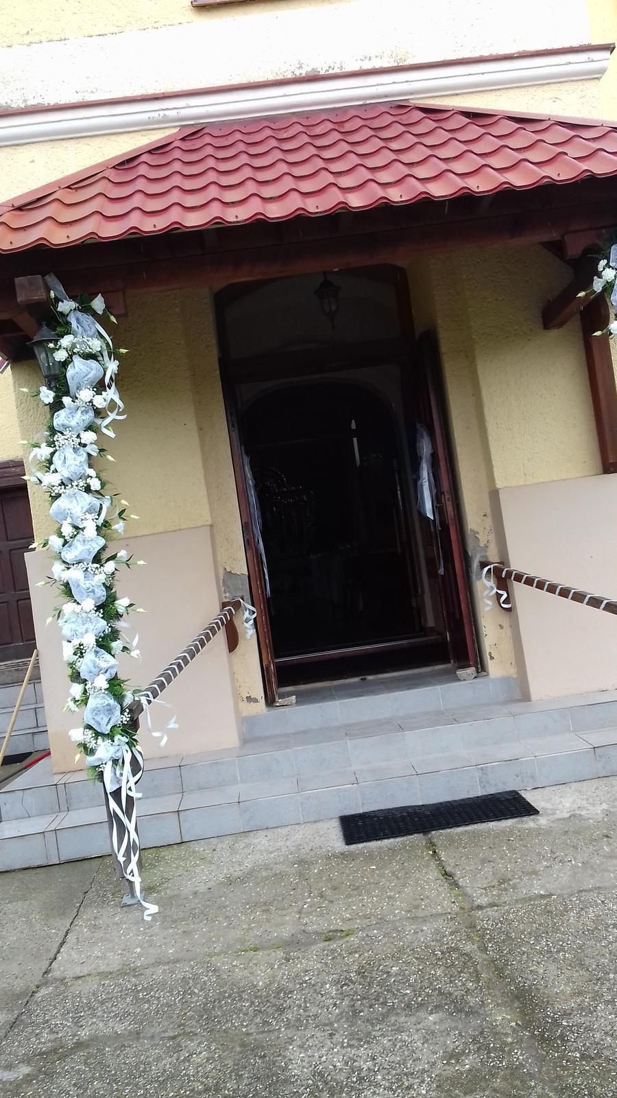 Svadobná girlanda na bránu,dvere - Obrázok č. 4